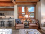 Big Sky Mountain Village, Arrowhead Chalet 1652, Living, 3