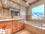 Big Sky Mountain Village Montana, Beaverhead Suite 1450, Master Bath, 2