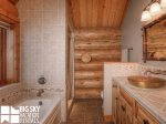 Red Feather Lodge, Master Bath, 3