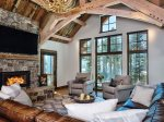 Spotted Eagle Lodge, Living Room, 7