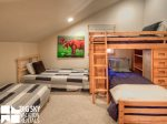 Big Sky Resort, Black Eagle Lodge 30, Bedroom 3, 1