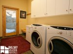Big Sky Resort, Black Eagle Lodge 30, Private Laundry