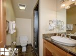 Big Sky Resort Lodging  Black Eagle 31, Loft Bath, 1