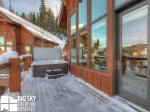 Big Sky Resort Lodging  Black Eagle 31, Deck, 1