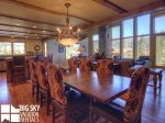Big Sky Resort, Black Eagle Lodge 32, Dining, 1