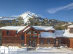 Big Sky Montana Ski In Ski Out Lodging, Moosecreek Lodge, Living, 1