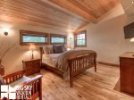 Big Sky Montana Ski In Ski Out Lodging, Moosecreek Lodge, Bedroom 3, 2