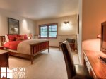 Big Sky Montana Ski In Ski Out Lodging, Moosecreek Lodge, Bedroom 3, 1