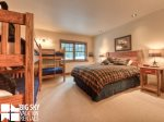 Big Sky Montana Ski In Ski Out Lodging, Moosecreek Lodge, Bedroom 4, 1