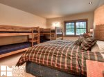 Big Sky Montana Ski In Ski Out Lodging, Moosecreek Lodge, Bedroom 4, 2