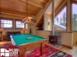 Big Sky Montana Ski In Ski Out Lodging, Moosecreek Lodge, Loft Living, 2