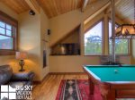 Big Sky Montana Ski In Ski Out Lodging, Moosecreek Lodge, Loft Living, 4