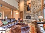 Big Sky Montana Ski In Ski Out Lodging, Moosecreek Lodge, Living, 2