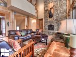 Big Sky Montana Ski In Ski Out Lodging, Moosecreek Lodge, Living, 3