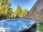 Big Sky Montana Ski In Ski Out Lodging, Moosecreek Lodge, Hot Tub 1, 2