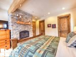 Big Sky Montana Ski In Ski Out Lodging, Moosecreek Lodge, Bedroom 1, 3