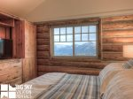 Big Sky Resort, Cowboy Heaven Cabin 7 Cowboy, Bedroom 1, 2