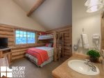 Big Sky Resort, Cowboy Heaven Cabin 7 Cowboy, Bedroom 2, 2