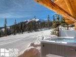 Big Sky Resort, Cowboy Heaven Cabin 7 Cowboy, Hot Tub, 3