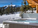 Big Sky Resort, Cowboy Heaven Cabin 7 Cowboy, Hot Tub, 4