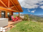 Big Sky Resort, Cowboy Heaven Cabin 7 Cowboy, Deck, 4