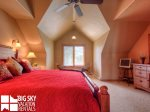 Big Sky Resort, Das Moose Haus, Bedroom 3, 3