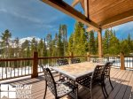 Big Sky Resort, Das Moose Haus, Deck, 2