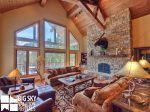 Big Sky Resort, Das Moose Haus, Living, 2