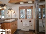 Moonlight Mountain Home 4 Harvest Moon  Loft Bathroom  1
