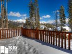 Big Sky Resort, Moonlight Mountain Home 6 Harvest Moon, Deck, 1