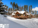 Big Sky Resort, Moonlight Mountain Home 6 Harvest Moon, Exterior, winter, 2