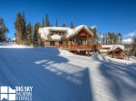 Big Sky Resort, Moonlight Mountain Home 6 Harvest Moon, Exterior Winter, 1
