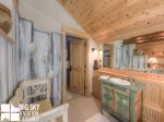 Big Sky Resort, Moonlight Penthouse 3, Loft Bathroom, 1