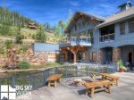 Big Sky Resort, Moonlight Penthouse 3, Shared Fire Pit, 1
