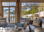 Moonlight Basin Rental, Moonlight Penthouse 3, Moonlight Lodge, Living, 7
