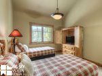 Big Sky Mountain Village Rental, Moosewood Meadows A, Bedroom 3, 2