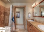 Big Sky Mountain Village Rental, Moosewood Meadows A, Loft Bathroom, 1