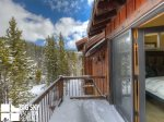 Big Sky Mountain Village Rental, Moosewood Meadows A, Bedroom 4 Private Deck, 1