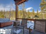 Big Sky Mountain Village Rental, Moosewood Meadows A, Deck, 1