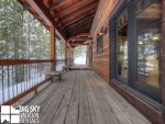 Big Sky Mountain Village Rental, Moosewood Meadows A, Deck, 3