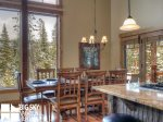 Big Sky Mountain Village Rental, Moosewood Meadows A, Dining, 2