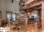 Big Sky Mountain Village Rental, Moosewood Meadows A, Dining, 3