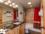 Big Sky Resort, Powder Ridge Chief Gull 3, Guest Bathroom, 2