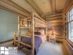 Ski In Ski Out Big Sky, Powder Ridge Manitou 7, Bedroom 2, 2