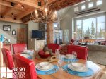 Big Sky Resort, Moonlight Mountain Home 7 Shadow Ridge, Dining, 1