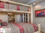 Big Sky Resort, Moonlight Mountain Home 7 Shadow Ridge, Bedroom 3, 2