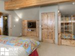 Big Sky Resort, Moonlight Mountain Home 7 Shadow Ridge, Bedroom 4, 2