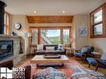 Big Sky Mountain Village, Arrowhead Chalet 1651, Living, 2