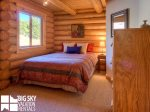 Lodging Big Sky Montana, White Otter Cabin, Bedroom 1, 1