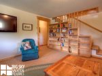 Lodging Big Sky Montana, White Otter Cabin, Downstairs Living, 1